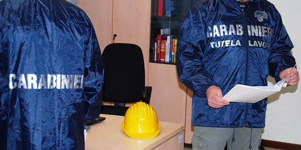 Messina, controlli dei carabinieri anti lavoro nero: 30 verifiche e 10 denunciati